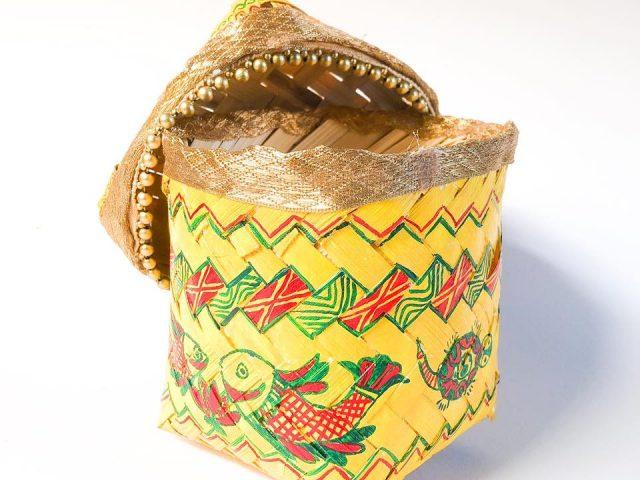 Manjusha Bamboo Container