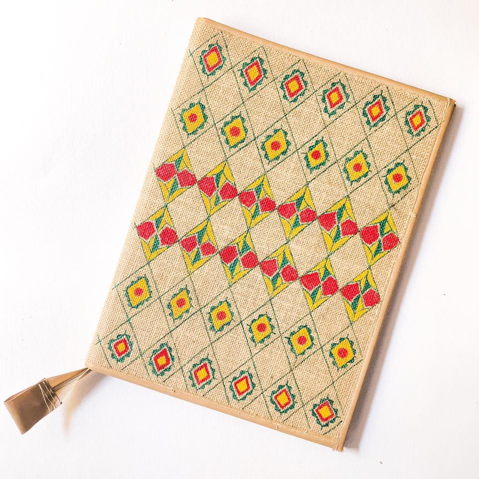 Manjusha Handmade Jute Diary Cover