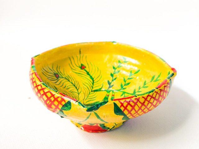 Manjusha earthen Clay Traditional Deepak.