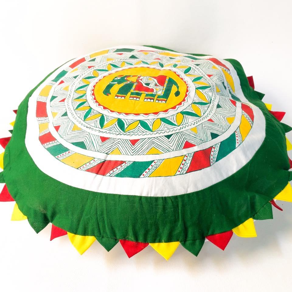 Manjusha Handmade Cushion Cover