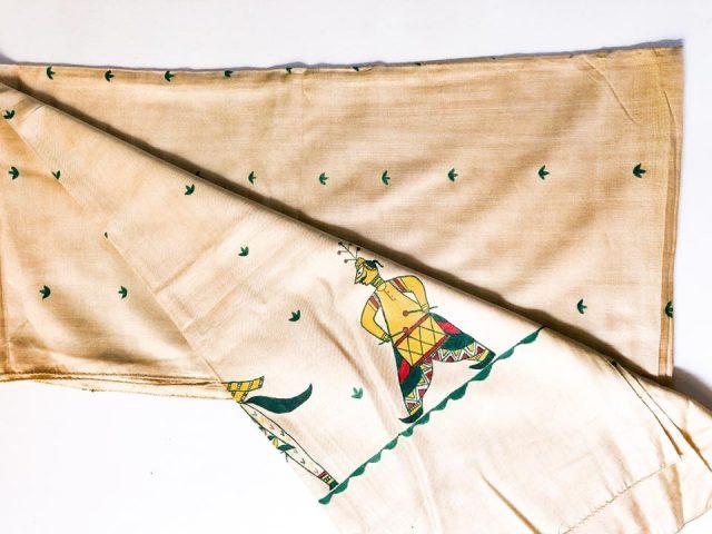 Manjusha Tasar Silk Dupatta