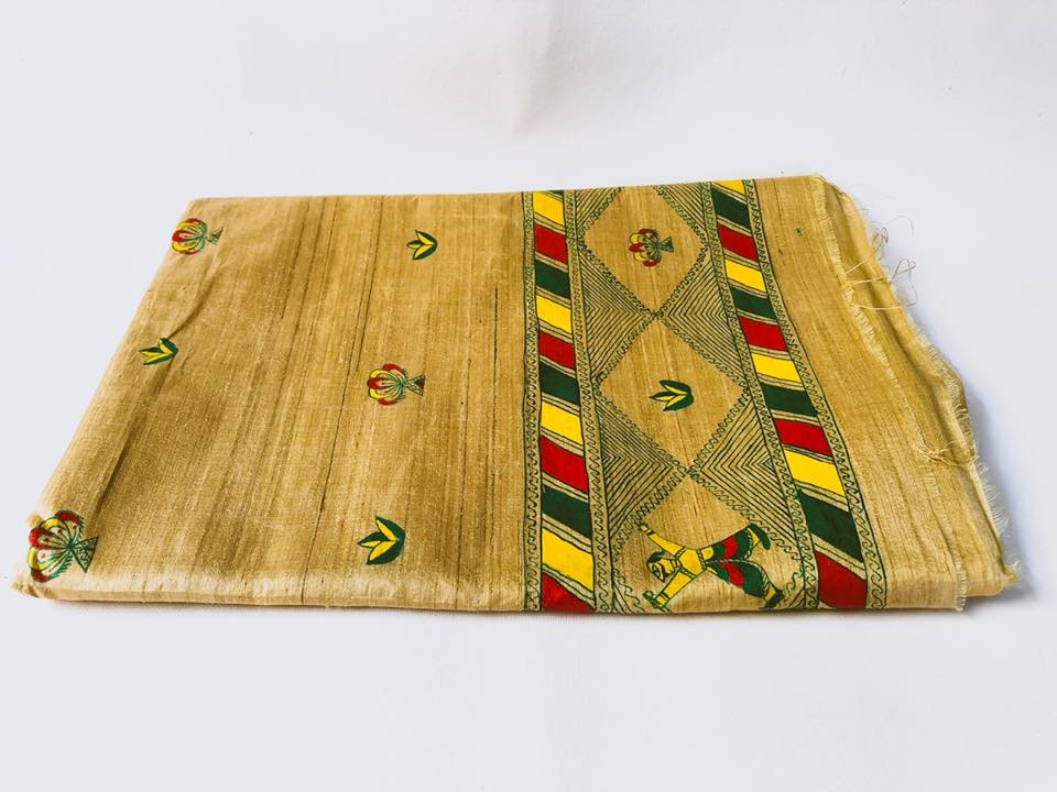 Manjusha Handmade Tasar Silk Saree