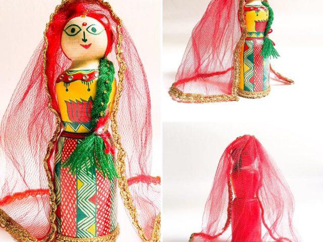 Manjusha Wooden Bride
