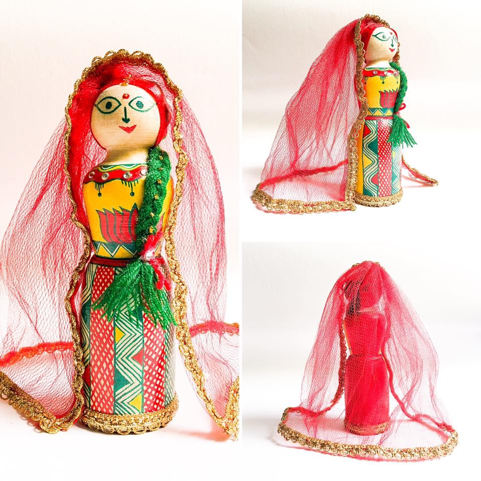 Manjusha Wooden Bride